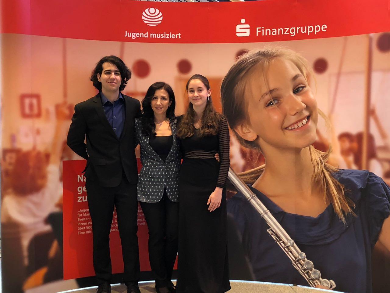 Pierre-Alain Krause, Marina Kheifets und Elisabeth Preommel