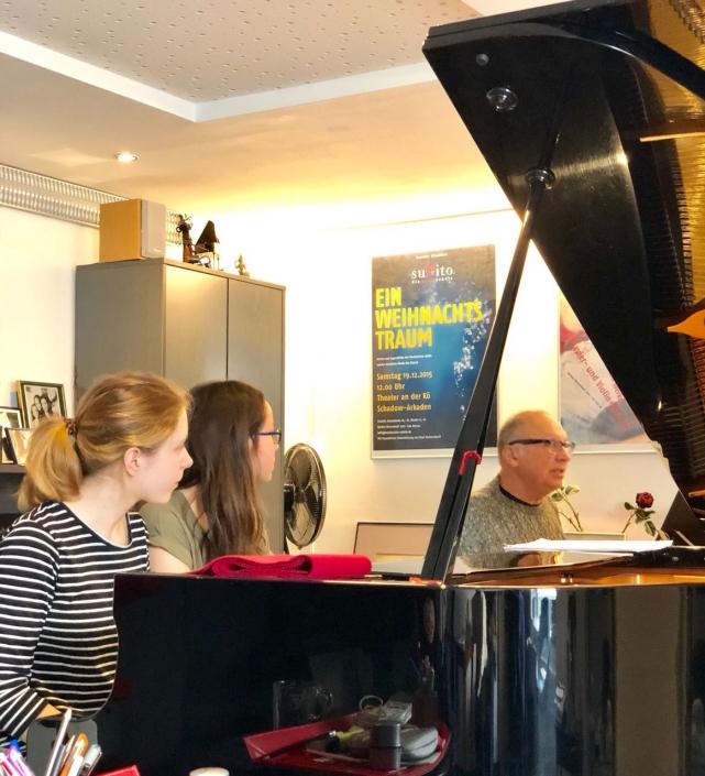 Meisterklasse mit Prof. Boris Bloch 3