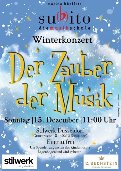 Musikschule Subito Winterkonzert