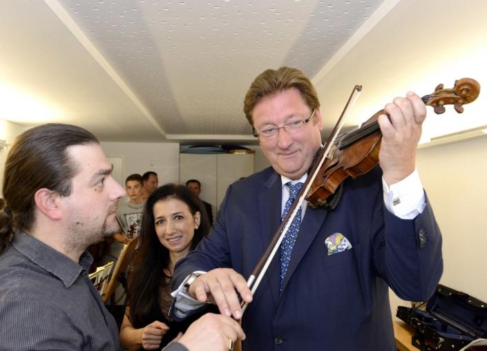 Oberbürgermeister Dirk Elbers zu Besuch
