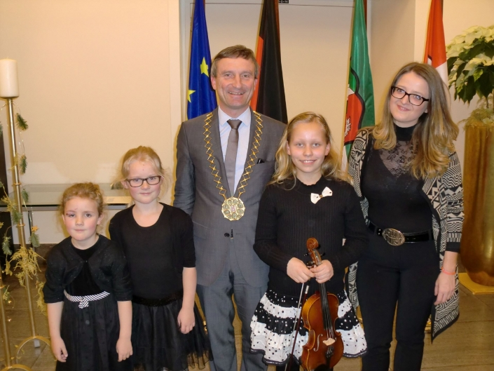 Rathauskonzert mit Oberbürgermeister Thomas Geisel