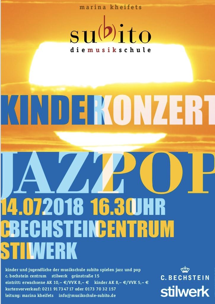 Sommerkonzert Musikschule Subito 2018