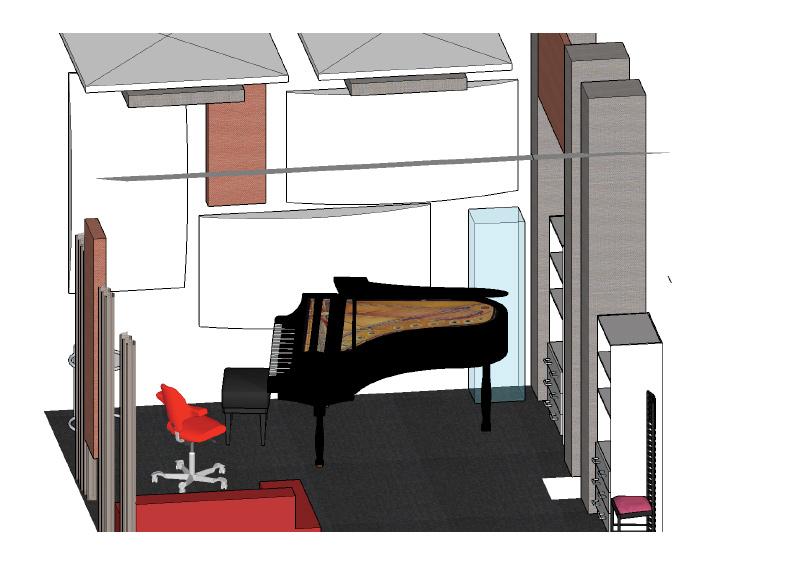 Räumlichkeiten Musikschule Subito Studio zimmerli