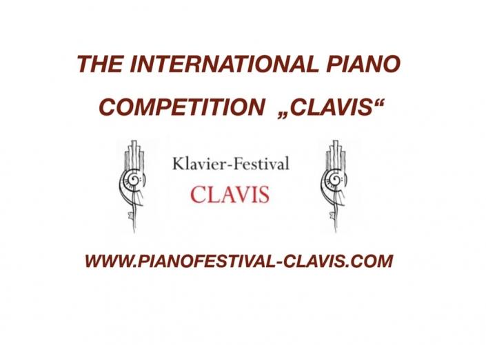 piano competition clavis 2021