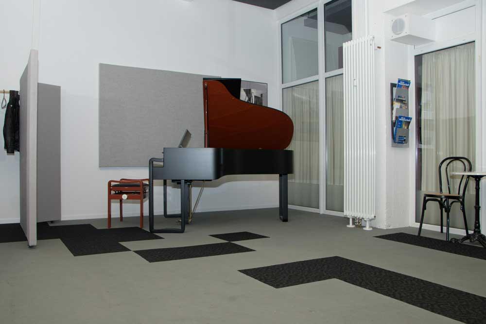 musikschule subito Düsseldorf zentrum Vorspielraum